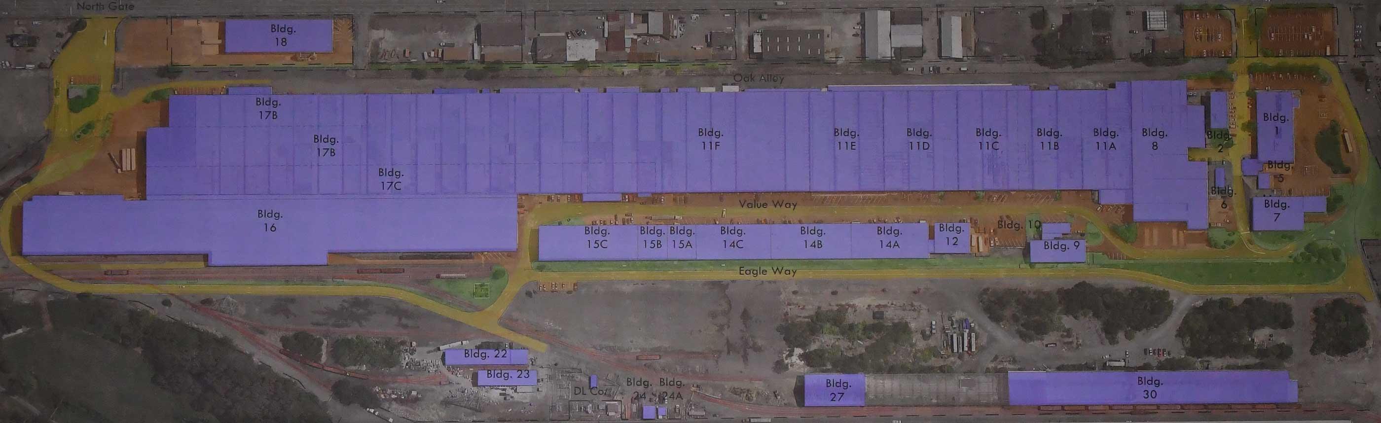 Ambridge Regional Arial View Plan